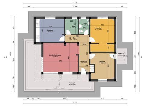 modern one story house plans single story modern house plans