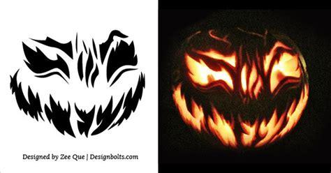 5 best halloween scary pumpkin carving stencils 2013 5 free scary halloween jack o lantern pumpkin carving