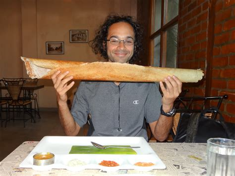 How To Make Paper Dosa - world travellers adam pervez a paper dosa in