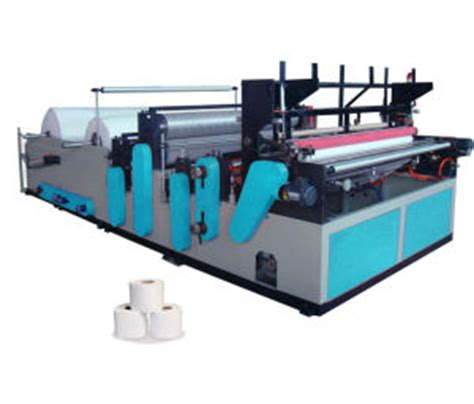 Machine For Toilet Paper - china automatic embossing and rewinding toilet paper