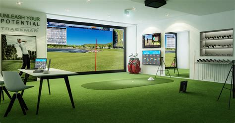 golf swing simulator indoor golf simulator hd and swing