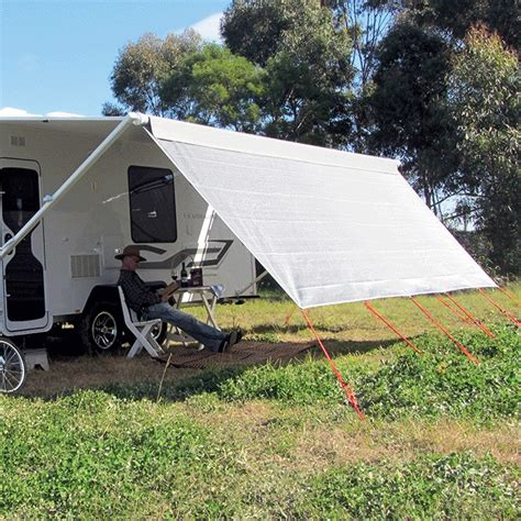 Roll Out Shade Awning Caravansplus Coast Sun Screen 4025mm X 1800mm Suit 14ft