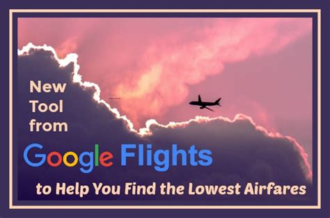 new tool from flights to you find the lowest airfares