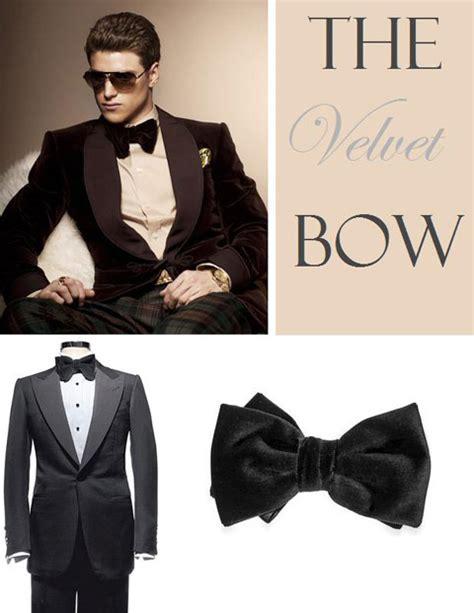 Velvet Click T Bow the velvet bow tie fashionmr