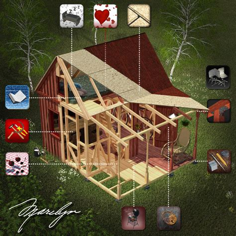 how to build a shed with a loft 14x30 storage shed relax cabin plans