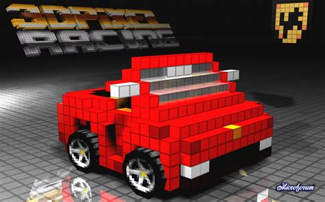 pixel race 3d pixel racing goodies desktop wallpapers race images