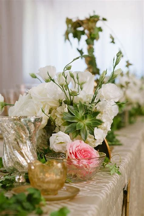 A natural mountain wedding in arizona floral centerpieces centerpieces and wedding centerpieces