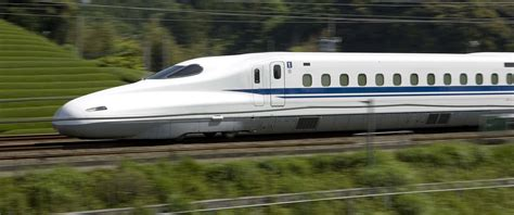 high speed japanese style bullet in on track for late
