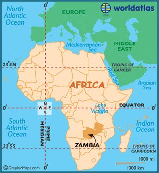 zambia latitude longitude absolute  relative
