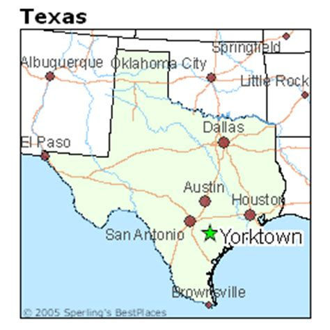 yorktown texas map best places to live in yorktown texas