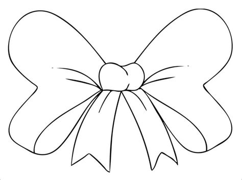 free printable minnie mouse bow template 8 printable minnie mouse bow templates free premium