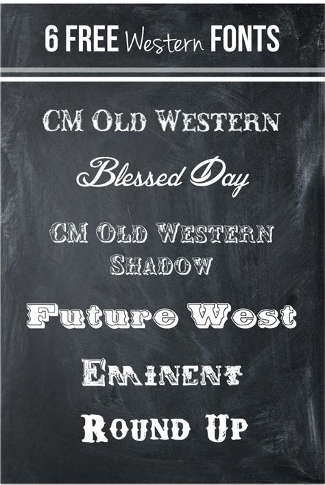 printable western fonts 155 best images about party it s a western hoedown on