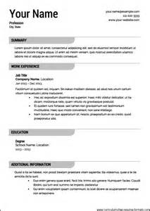 create professional resume online 1
