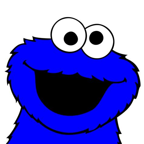 cookie monster clipart best