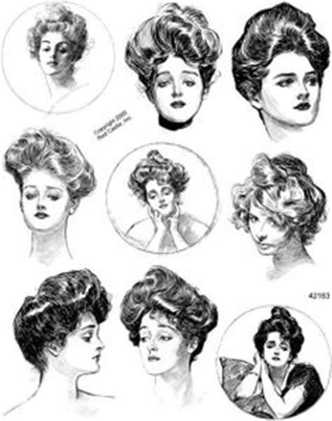 1900s women business hairstyles moda 1900 1909 on pinterest gibson girl belle epoque