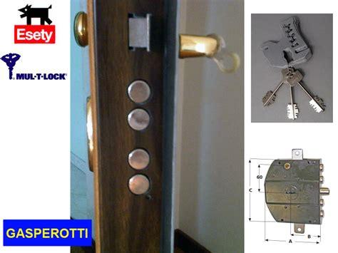 porte blindate gasperotti prezzi serrature porte blindate gasperotti serratura europea