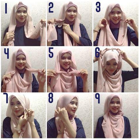 tutorial hijab pashmina remaja 2015 cara memakai pasmina sifon tutorial cara memakai hijab