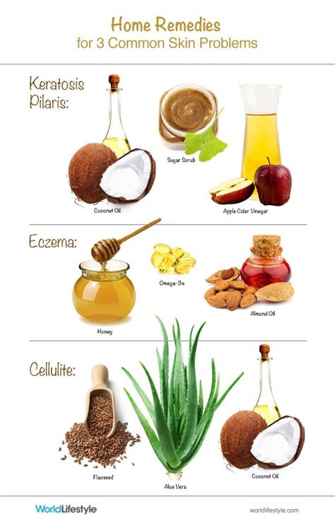 home remedies for the most common skin problems