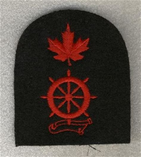 boatswain canadian forces royal canadian navy regulating branch and naval police badges