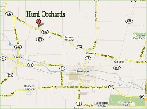 directions  hurd orchards