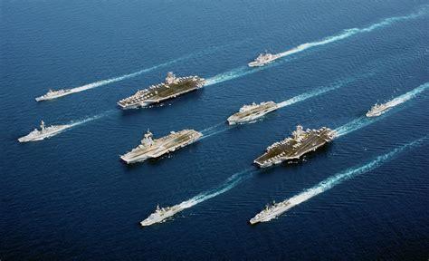 nuove portaerei americane nuova esercitazione per la portaerei enterprise