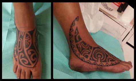 et tattoo marquesan foot polynesian