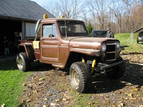 1962 Jeep Willys Truck 1962 Jeep Willy S Truck Ford V8 Conversion Jeepfan