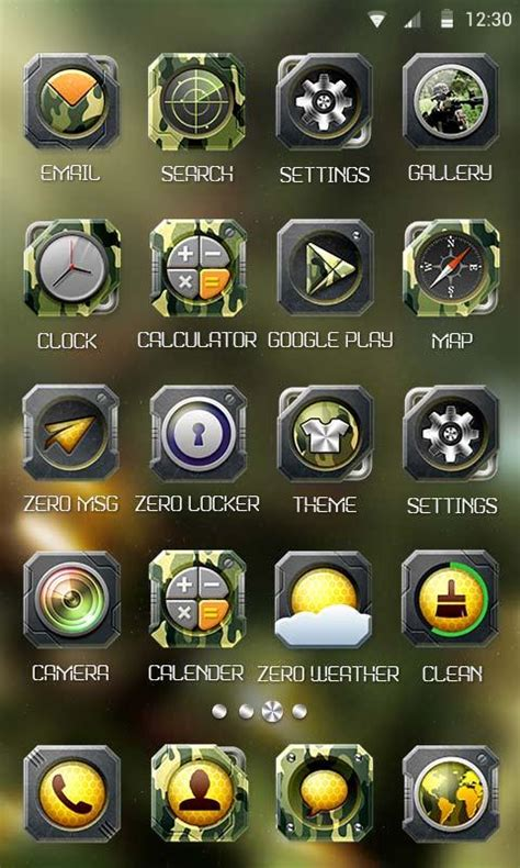 themes zero launcher apk camo theme zero launcher android apps on google play