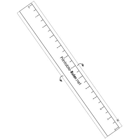 printable ruler half inch elementary rulers printable ruler