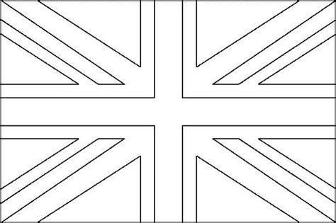 union jack to colour coloring pages