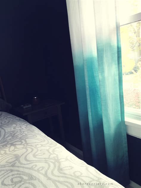 Shore Society Diy Ombre Curtains