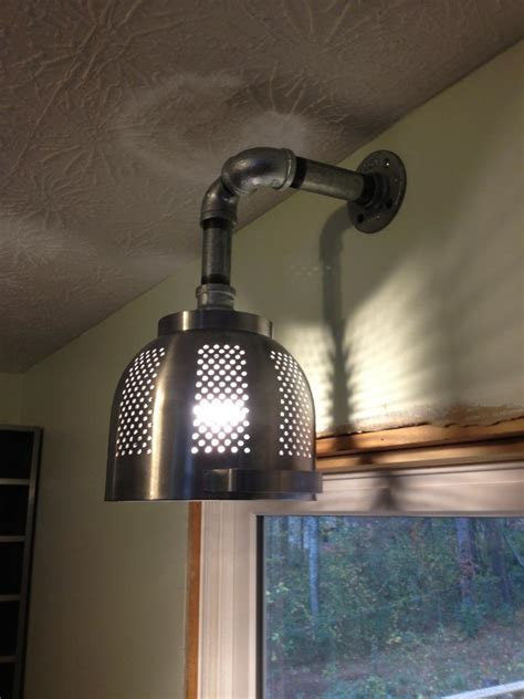 another ikea hack pretty cool kitchen light made from an