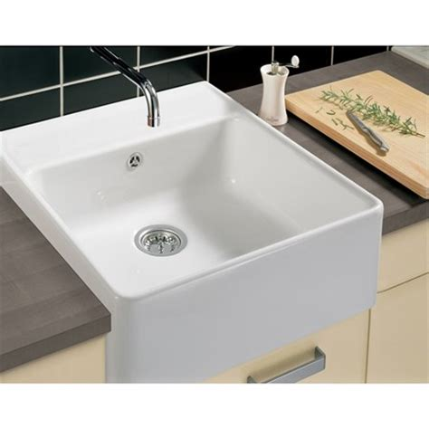 ceramic sinks kitchen villeroy boch butler 60 white ceramic plus single bowl