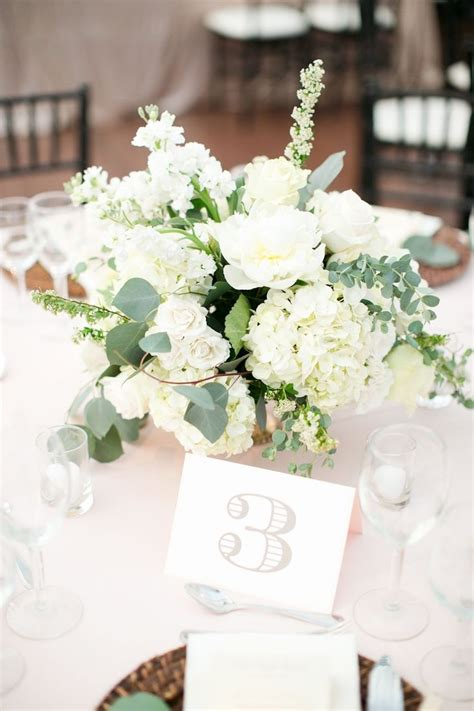 ideas for wedding flower arrangements flower idea - White Flower Wedding Arrangements