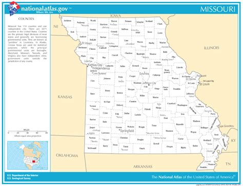 missouri map with cities and towns cities in missouri by county