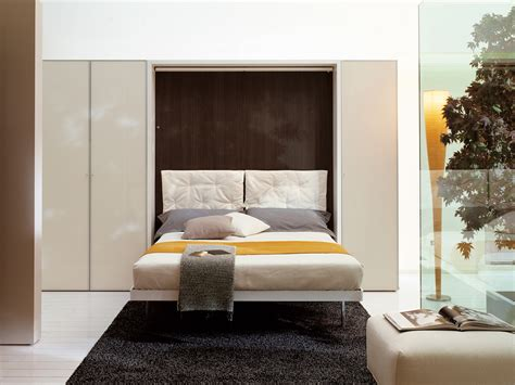 letto a scomparsa a parete parete attrezzata con letto a scomparsa lgm by clei design