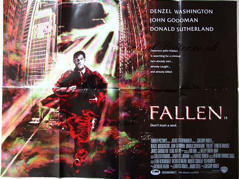 fallen movie posters from movie poster shop fallen original vintage film poster original poster