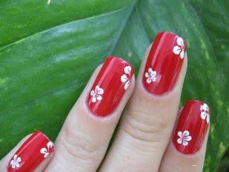 imagenes decoracion uñas rojas u 241 as decoradas sencillas y lindas web de la belleza