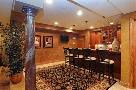 basement bar arlington heights il transitional