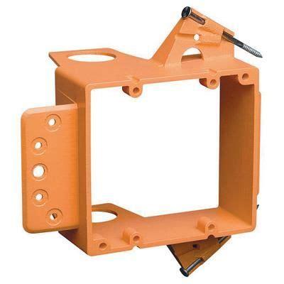 low voltage wiring box carlon 2 low voltage mounting bracket new work