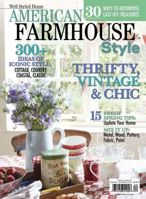 cottage style magazine subscription 1 digital issue cottages and bungalows magazine american farmhouse style
