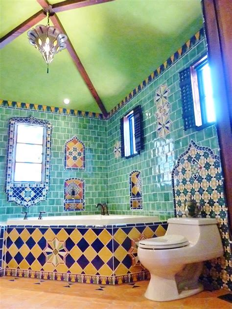 mexican tile bathroom designs pin by indeed decor on decorating with talavera tiles