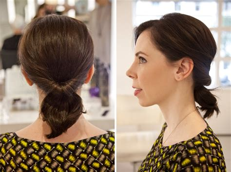 hairstyles for shoulder length hair pony tails 3 perfectly effortless styles for medium length hair