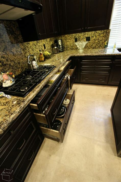 cabinets counters and more full granite backsplash and counters with dark
