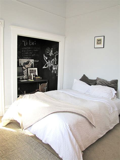 chalkboard paint in bedroom 35 bedrooms that revel in the beauty of chalkboard paint