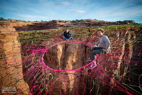 400 Feet by Thrill Seekers Suspend A Giant Hammock 400 Feet Above The