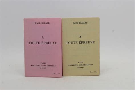 libro a toute epreuve 192 toute 233 preuve y el arte del lenguaje blog fundaci 243 joan mir 243