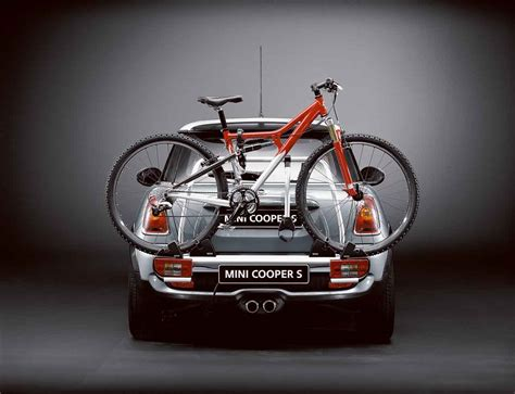 Mini Cooper Convertible Bike Rack by Mini Genuine Rear Carrier Rack Tow Bar Bicycle Spacer