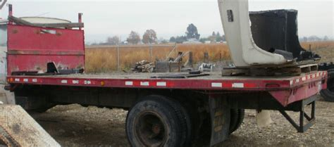 Used Truck Beds For Sale by For Sale Used 20 Flatbed