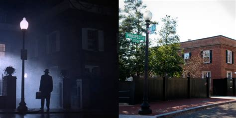 exorcist film locations 14 real life locations of classic horror movies